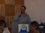 Apresentação do Rotaract Aliança Lapa no Rotary Freguesia do Ó