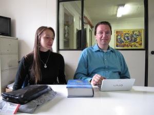 Dr. Celso Gioia e Mariana Gioia